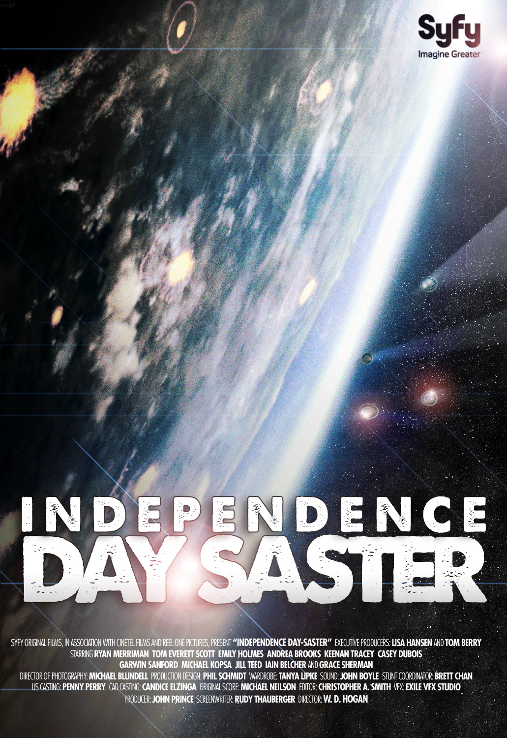 Independence Day-saster could well be the most stupidly titled film SyFy have ever made, and that is an award with very heavy competition.