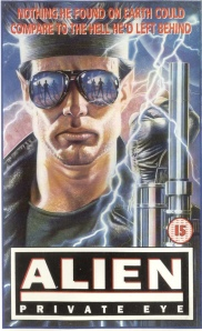Alien Private Eye poster