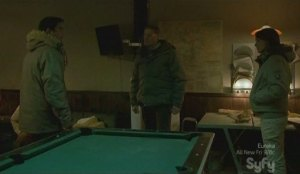 Who takes a pool table to the Arctic?