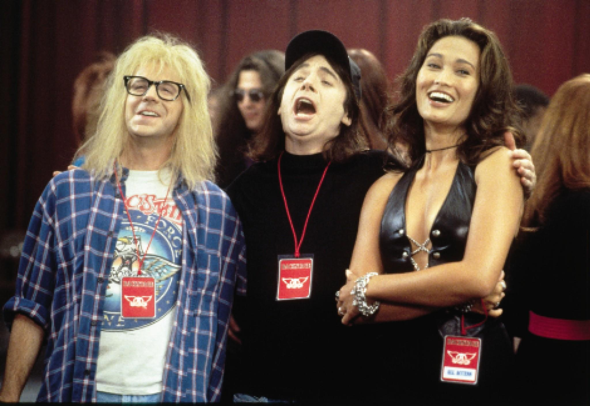 "the ""wayne's world"" movies (1992 and 1993) 