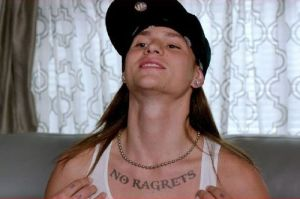 """I know at least one person who has some 'ragrets' from this movie, you know what I'm saying."""