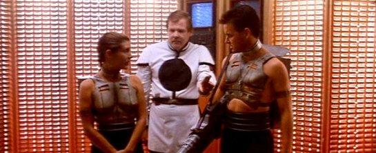 Yes, their metal vests have nipples