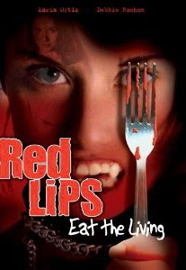 red lips eat the living